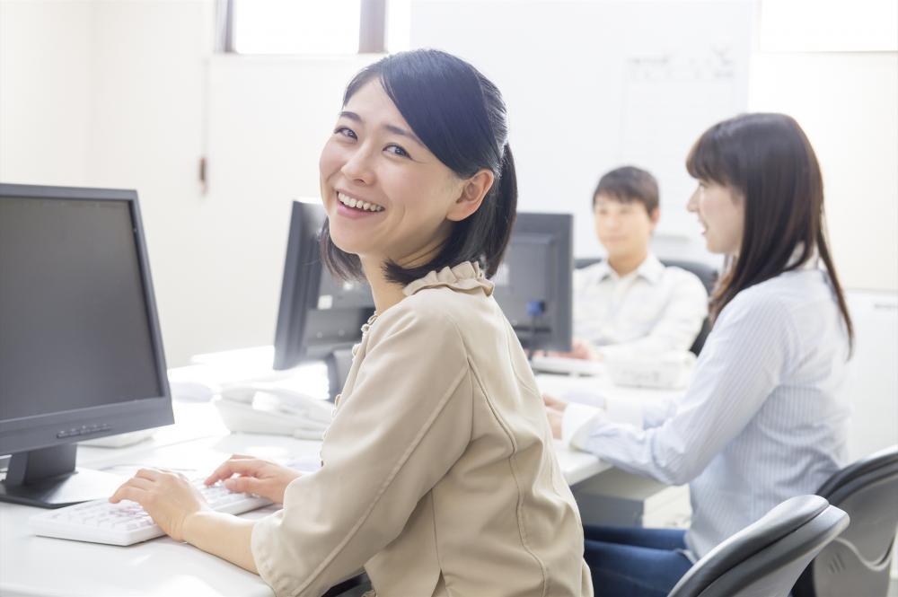 直接雇用を目指せる!時短の一般事務:浜松東区