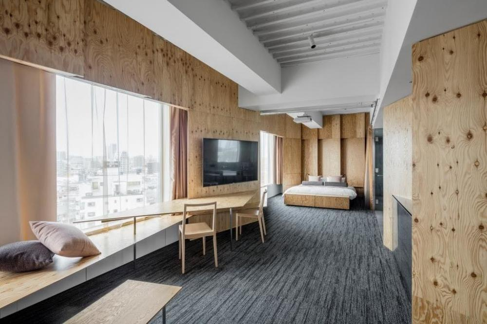 【週払い可能 】デザイニングホテルにて客室清掃のお仕事♪
