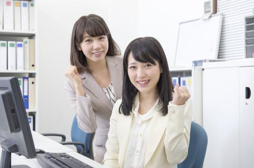 【葵区】直雇用も目指せる!OA事務のお仕事