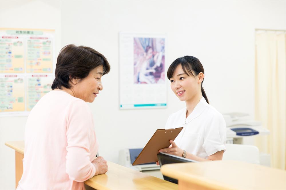 【富士市】総合病院で受付のお仕事です!