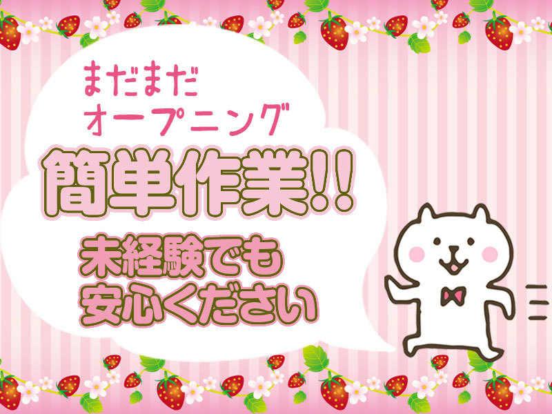 【急募】バッテリーの製造サポート!梱包・検品ほか