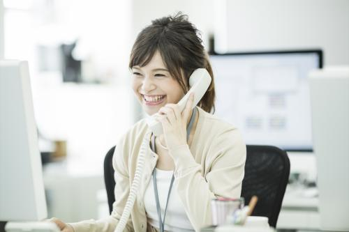 【静岡街中】高時給◎既存契約者様への電話案内◎ノルマ無し