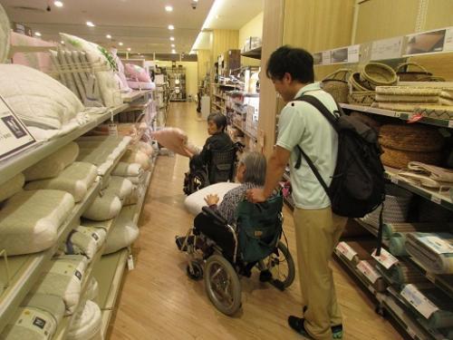 買い物介助