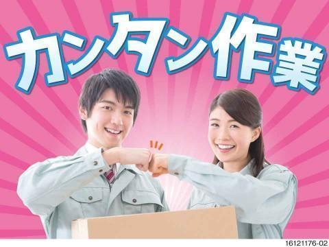 商品の仕分け・ピッキング・梱包/重量物なし!/NSM
