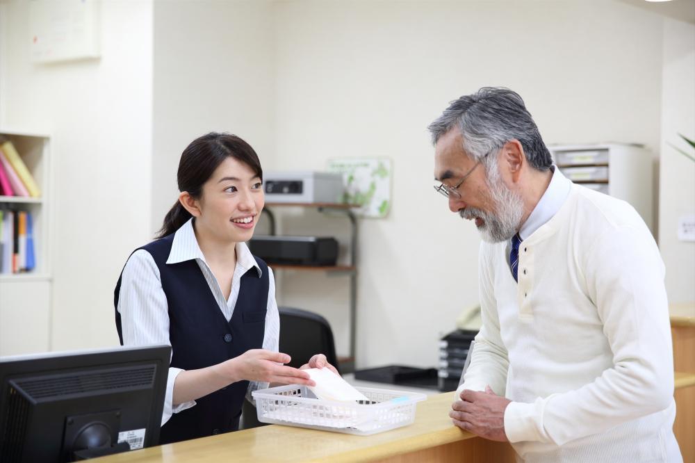 患者さんとダイレクトに接することができる外来受付業務