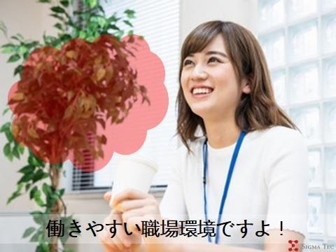 受付スタッフ/土日祝休み/未経験OK