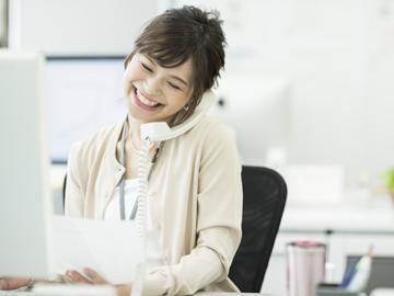大手企業での事務◆システムへの入力が中心◎社内対応のみ!
