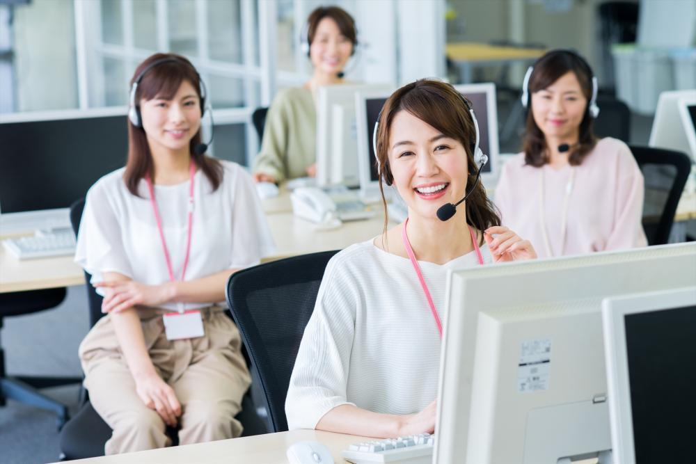 人気の官公庁受付事務~電話対応がメインです 複数名募集!