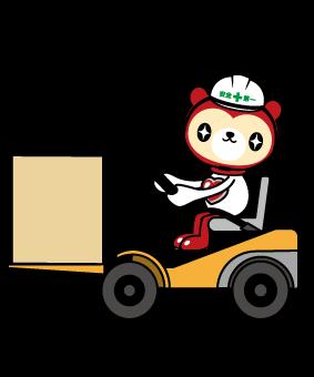 大手企業で働こう!リフトを使った庫内運搬作業