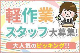 月収10万円可!平日17時~22時/倉庫内軽作業