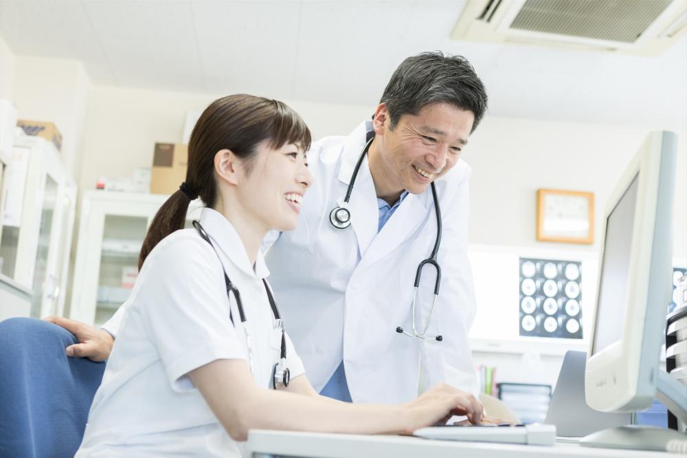 浜松中区【土日祝休】総合病院内科クラーク(医師事務補助)時短